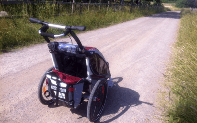 Lekhagen testar – Barnvagn Chariot CX1