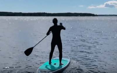 Lekhagen testar – SUP: Stand up paddle board