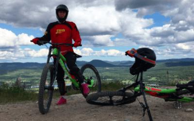 Lekhagen testar –Downhill på Järvsö Bergscykel Park