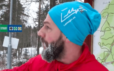 "Lekhagen testar –Motionsspår: ""SM-spåret"", Umeå"