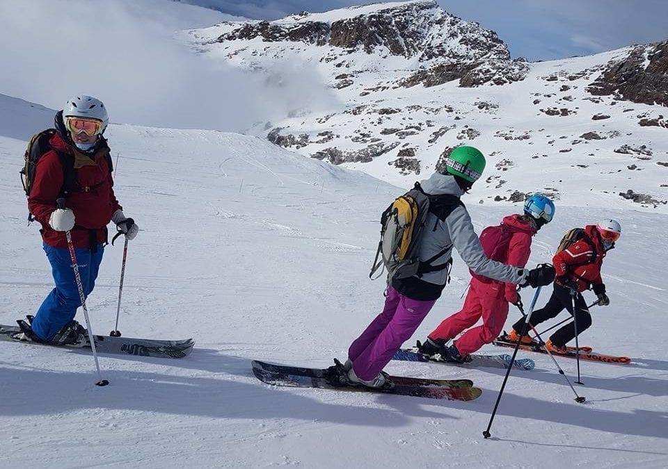 Lekhagen testar –Offpist-resa med Systrar i bergen