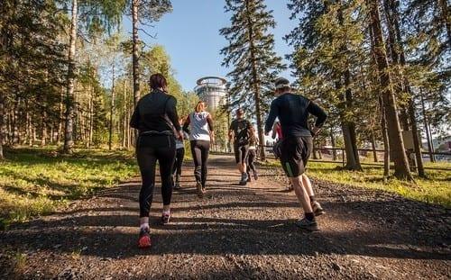 Spring med Team Nordic trail- Östersund