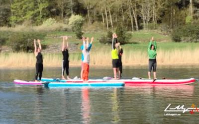 Lekhagen testar: Prova på SUP-yoga