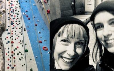 Lekhagen testar: Introduktionskurs i klättring