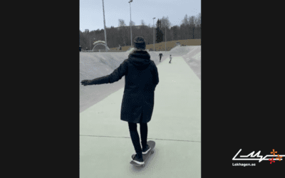 Lekhagen testar: Prova på Skateboard